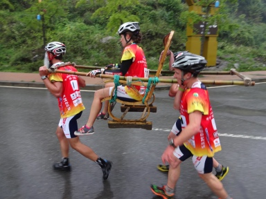 Prologue - Rickshaw chair carry