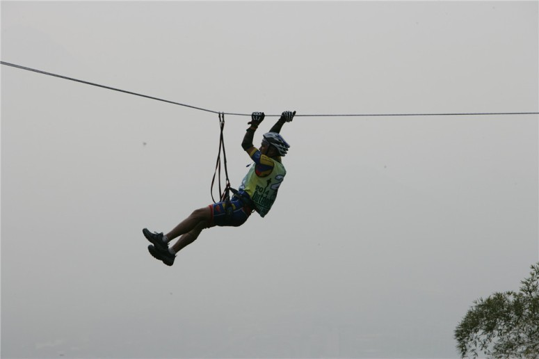 The 'flying' fox from Wenzhou. But it was the same in Baise race with less visibility.