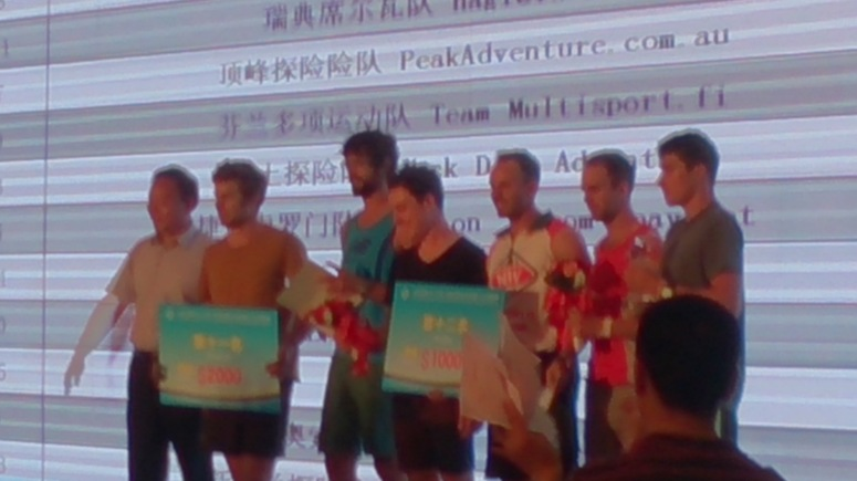 Fuzzy prize giving photo