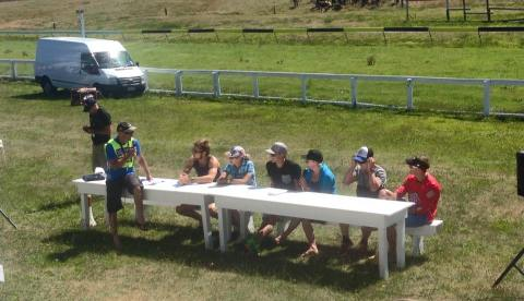 Pre race athlete Q&A @ Kumara race course