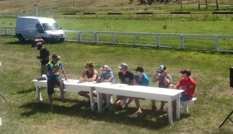 Pre race athlete Q&A @ Kumara race course