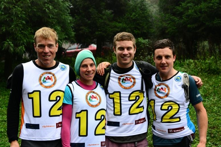Team Torpedo7. Marcel, Simone, Hamish, Me.