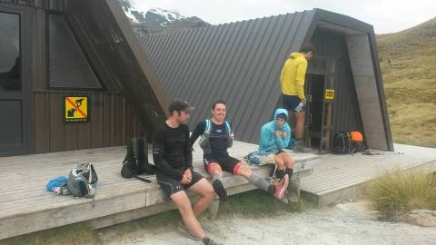 Routeburn track with the locals