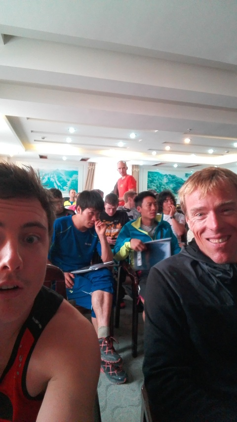 Race briefing today