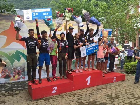 Day 4 podium