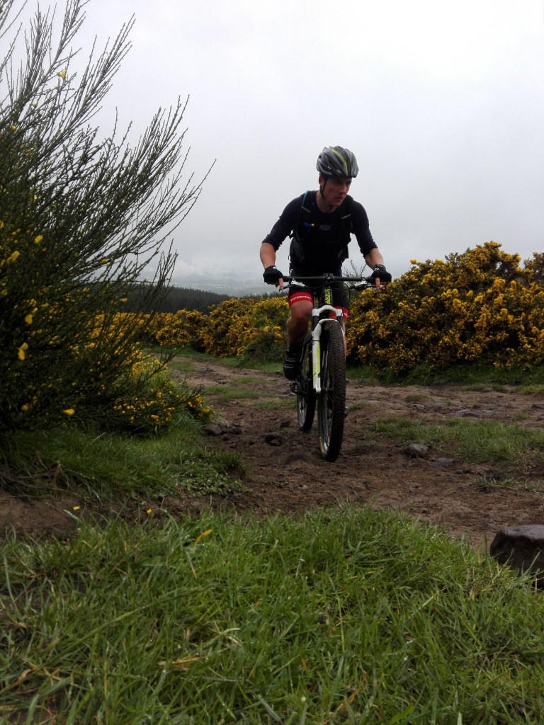 Checking out the new local trails in Chch (not allowed to ride this bike for a wee while)